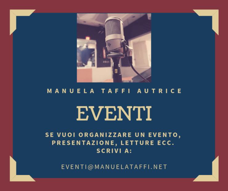 Eventi Manuela Taffi Autrice