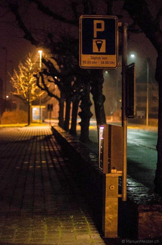 Progymatte Langzeitbelichtung Nacht Thun