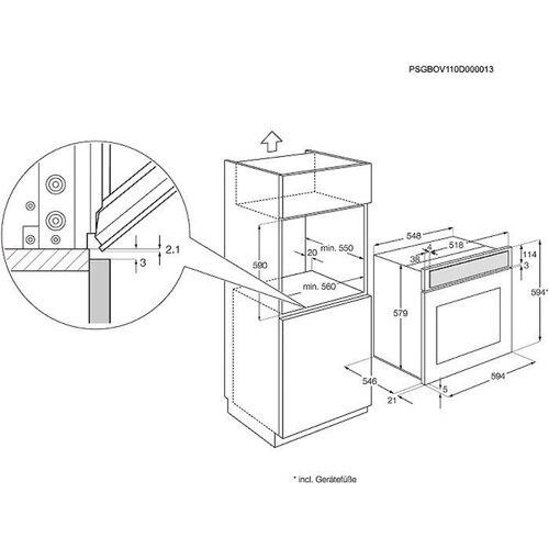 Mode Demploi Four Electrolux Eov5700box
