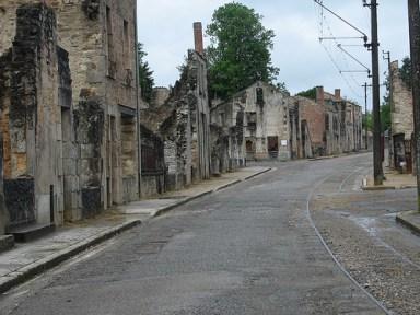 Oradour-sur-Glane, por skiena