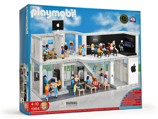 Playmobil Apple Store