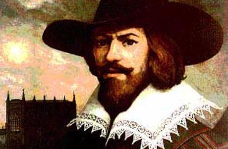 Retrato de Guy Fawkes