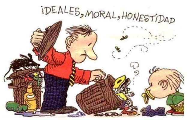 Quino: Desechamos los valores éticos
