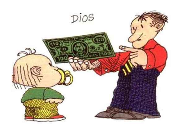 Quino: El dinero es nuestro nuevo dios