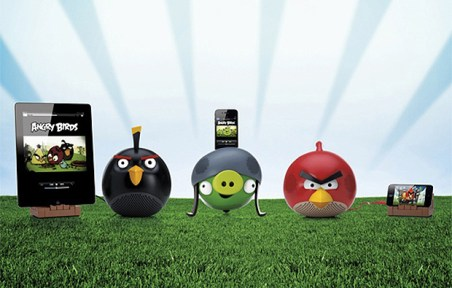 Altavoces de Angry Birds para iPhone, iPad y iPod touch