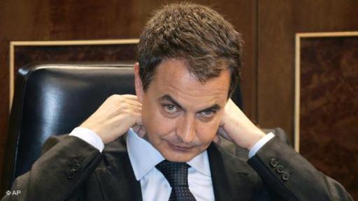 Zapatero después de que se aprobase la reforma constitucional