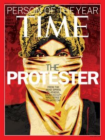 Portada de Time person of the year 2011: The protester