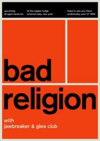Bad Religion swissted, por Mike Joyce