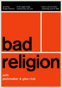Bad Religion swissted, por Mike Joyce