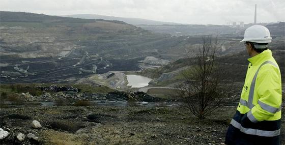 Mina de As Pontes en 2007. Foto de José Pardo en La Voz de Galicia