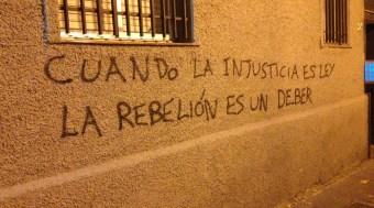 Cuando la injusticia es ley, la rebelión es un deber