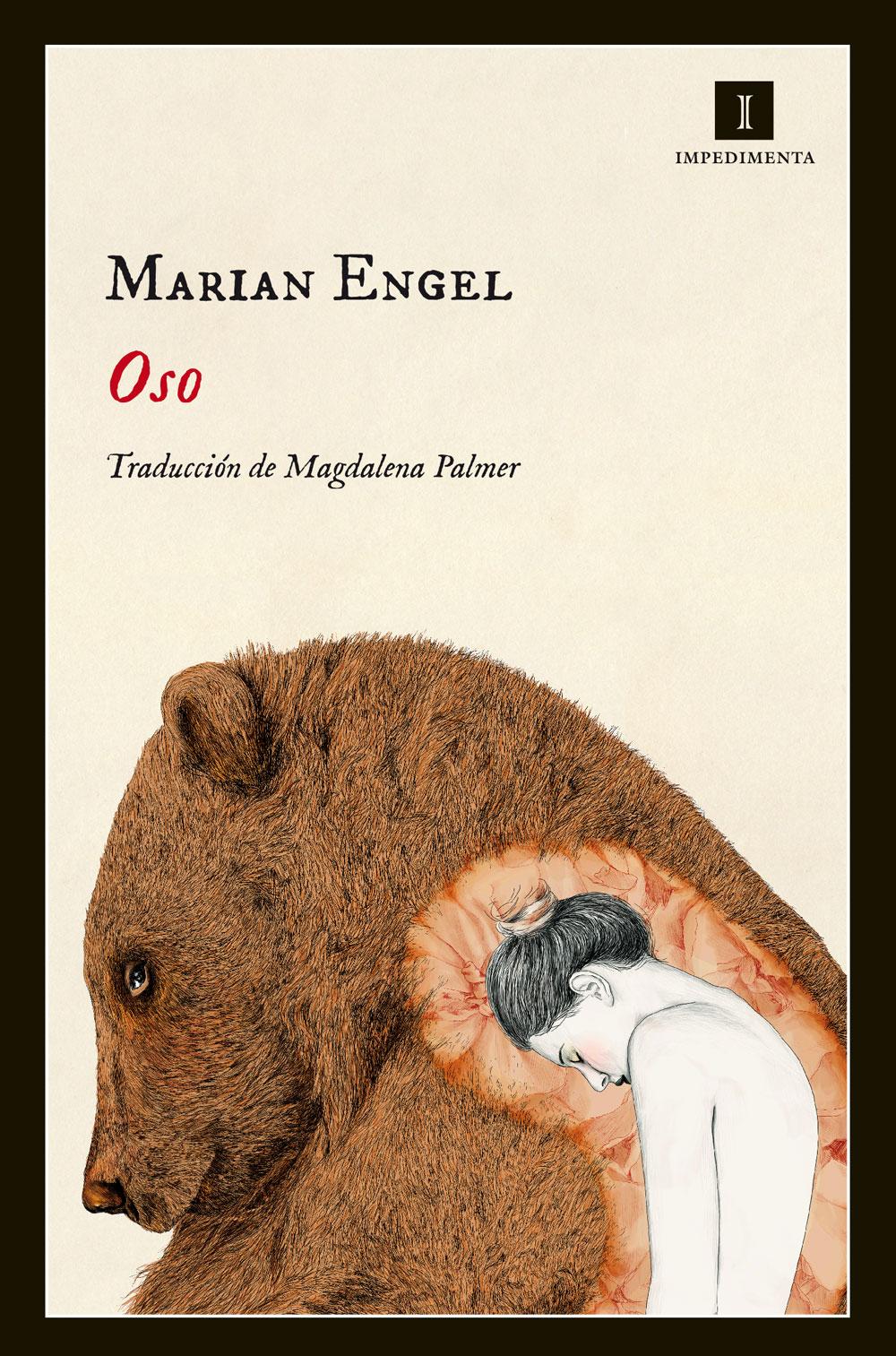 Portada de Oso, de Marian Engel, en Impedimenta