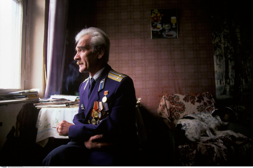 Stanislav Petrov en un fotograma de la película documental The man who save the world
