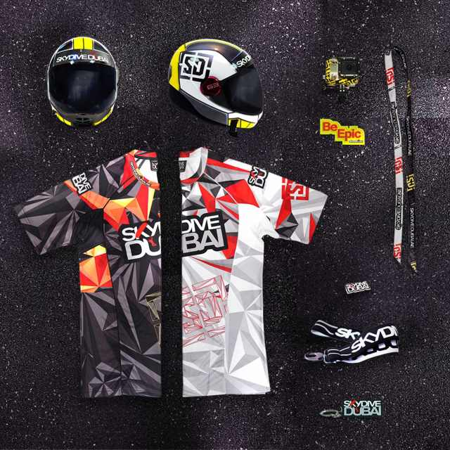 Manufactory Brand Package_Merchandise_Skydive Dubai