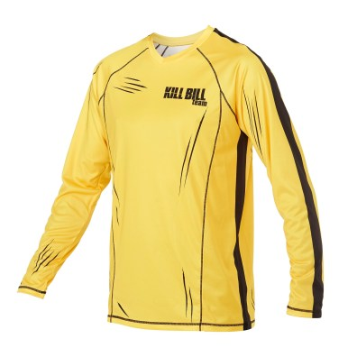 Custom skydiving Jersey in Yellow