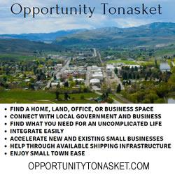 Opportunity Tonasket:  You Only Get to do this Life Once, So Let's Make it Count.