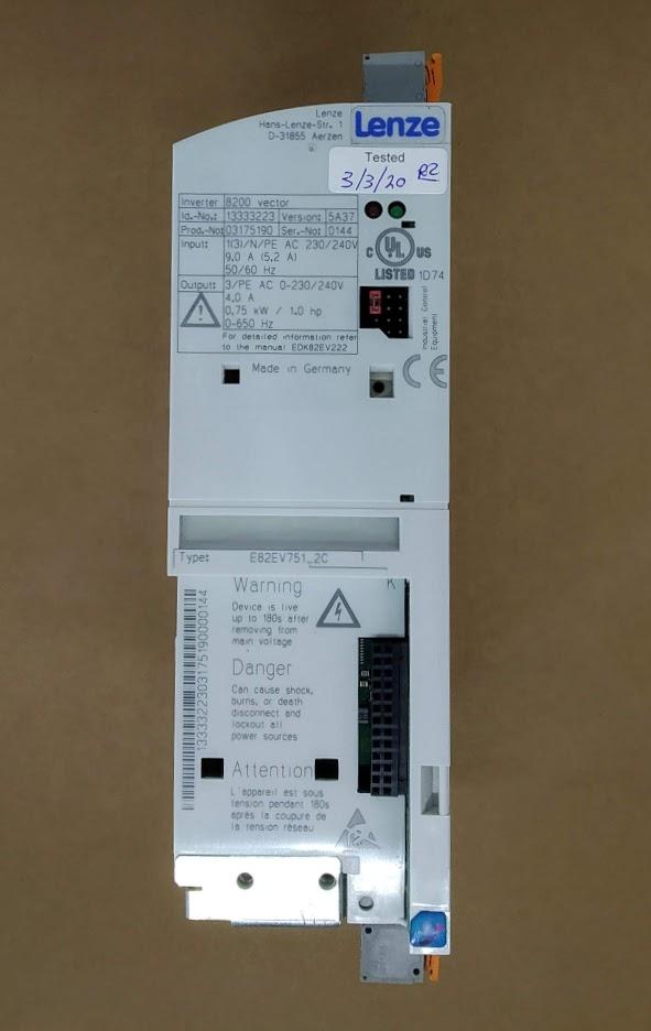 E82EV751_2C 230V 0,75KW