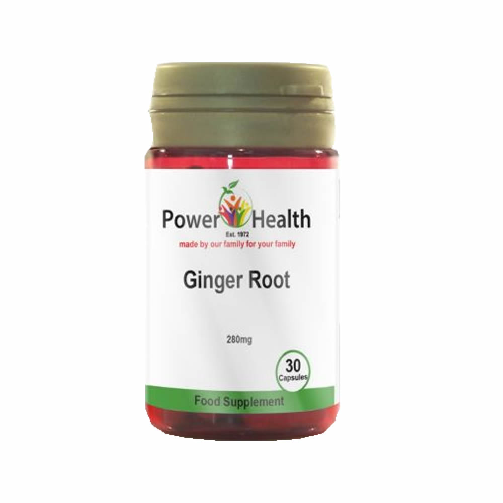 Power Health Ginger Root 280mg - 30 Capsules - Manuka ...