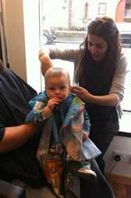 Baby Haircut