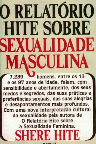 O Relatório Hite Sobre Sexualidade Masculina de Shere Hite