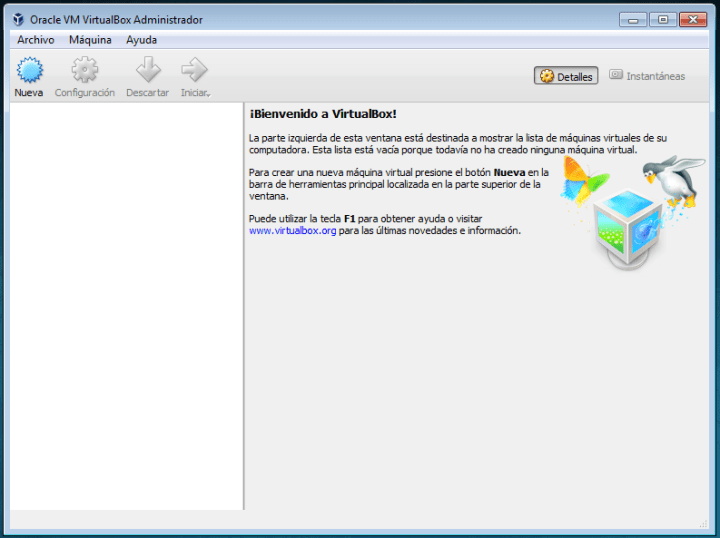 Configurar una máquina virtual con Ubuntu en VirtualBox