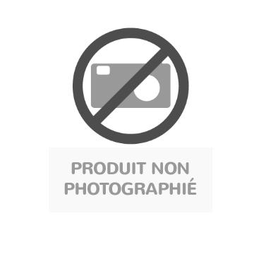 meuble octet a cases beige sur socle metal gris ral 9006