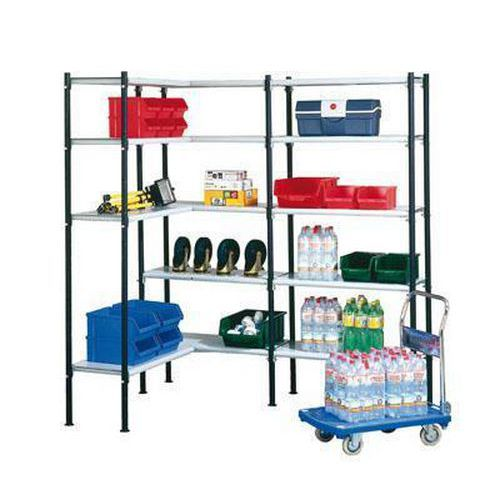 Dajte zamestnancom upratovania všetky prípravky prehľadne do prístavbového regála.