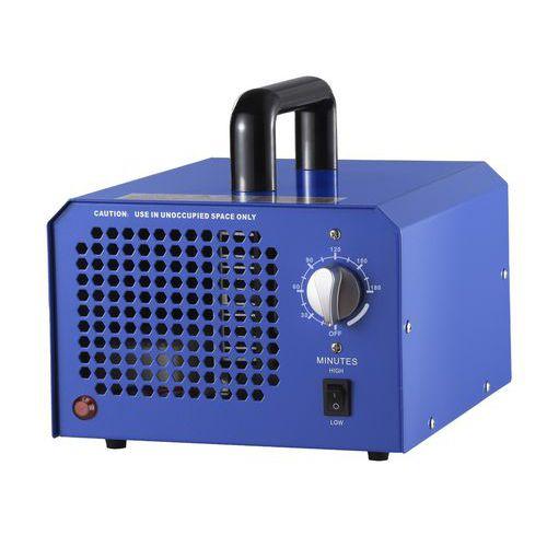 Prenosným ozónovým generátorom vydezinfikujete priestor 100 m2 za 1,5 hodiny.