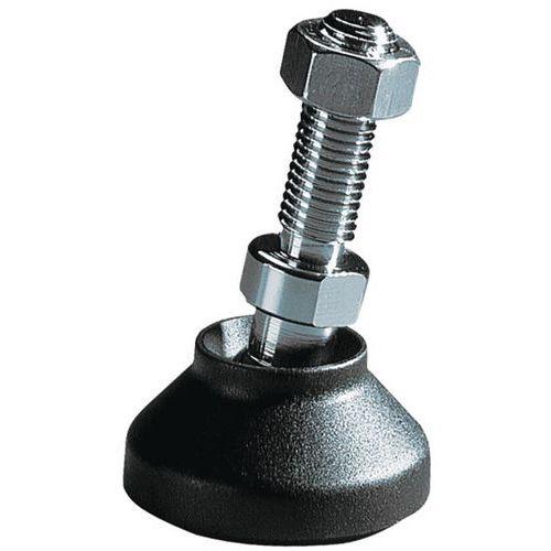 pied reglable inox o 60 mm 1200 kg laiton manutan fr