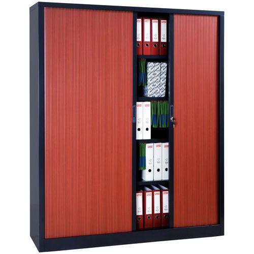 armoire a rideaux extra large en kit largeur 180 cm manutan fr