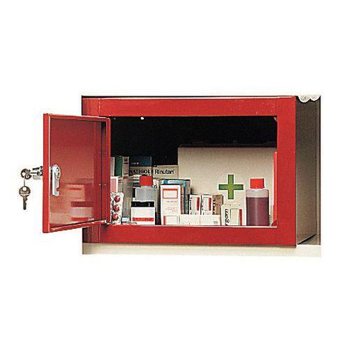 armoire a pharmacie grande capacite 2 portes manutan fr