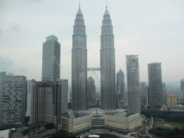 View Of Petronas Towers. Man World