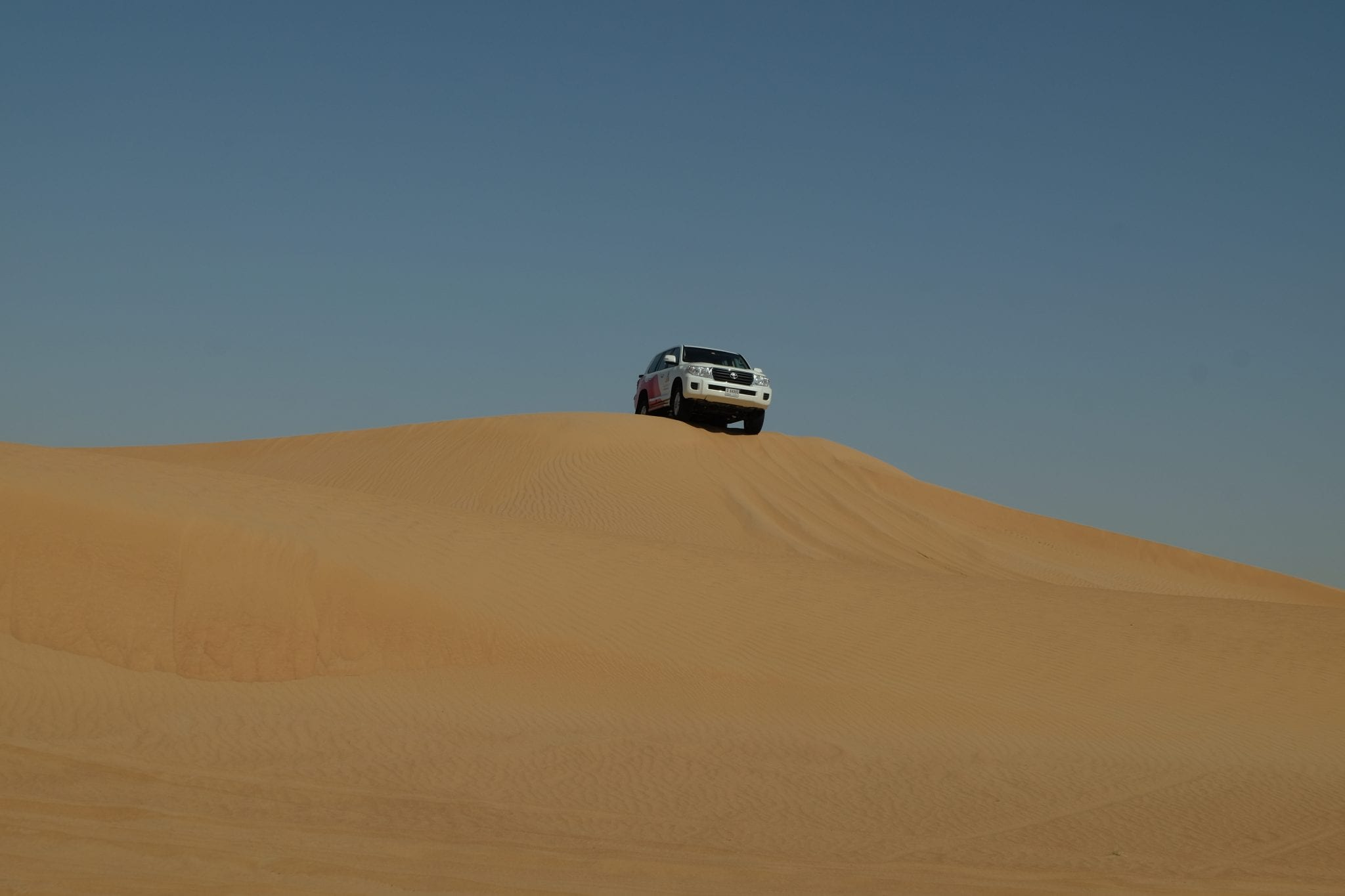 jeep dune bashing with arabian adventures