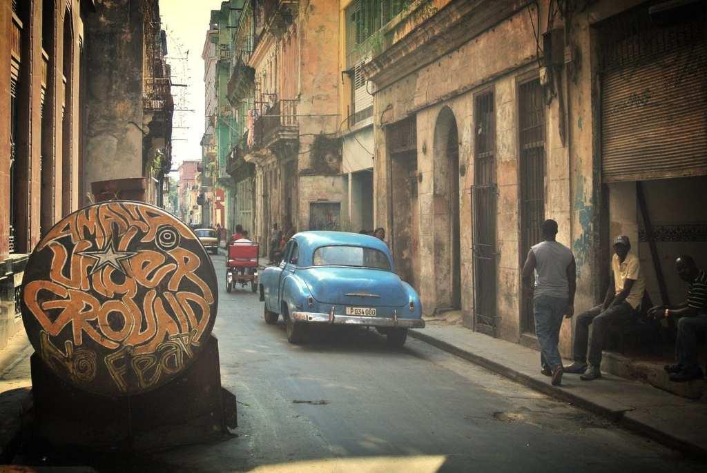 The Streets of Havana Vieja, Cuba
