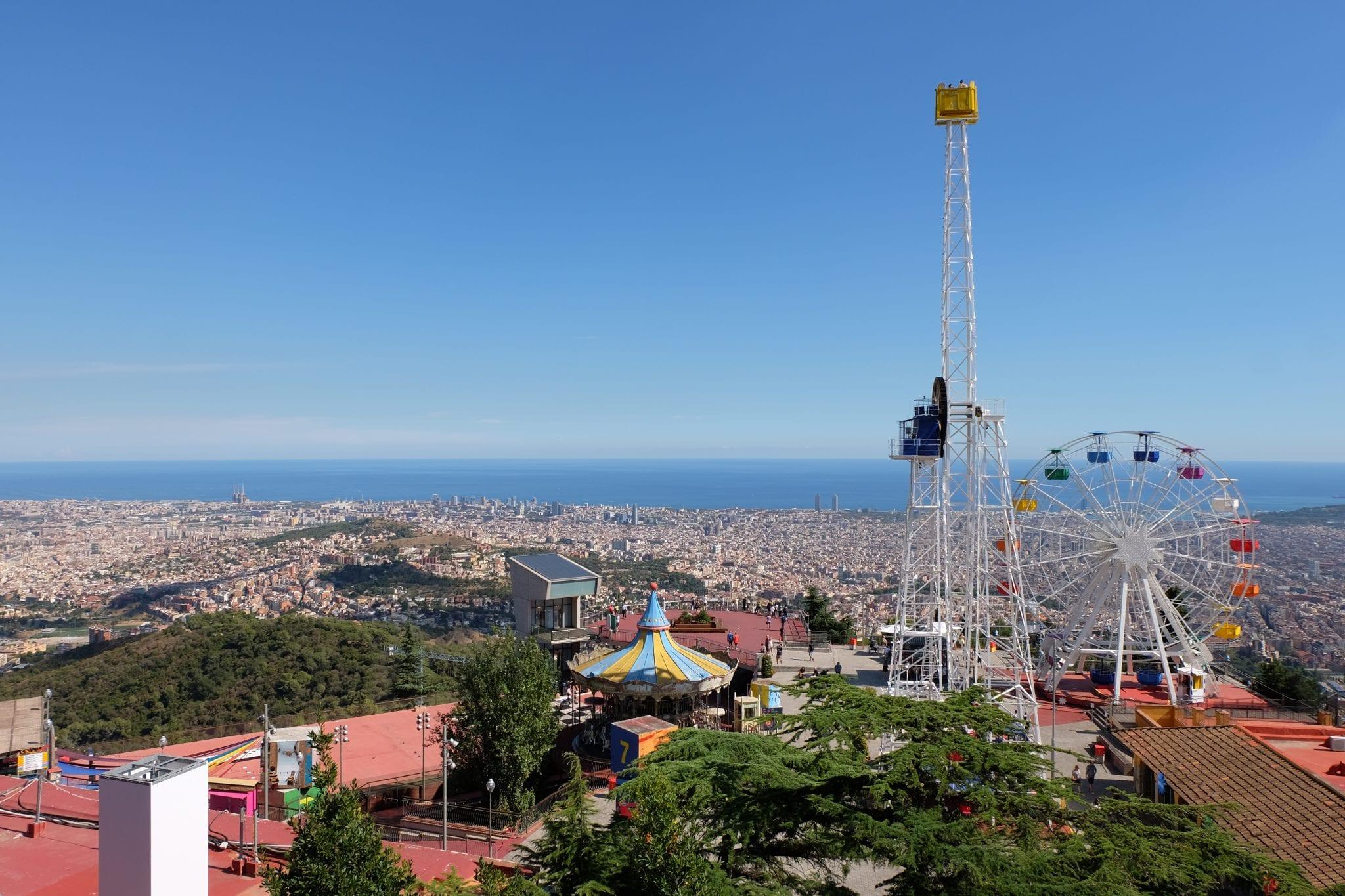 tibidabo view