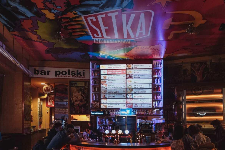 Setka bar in wroclaw, poland