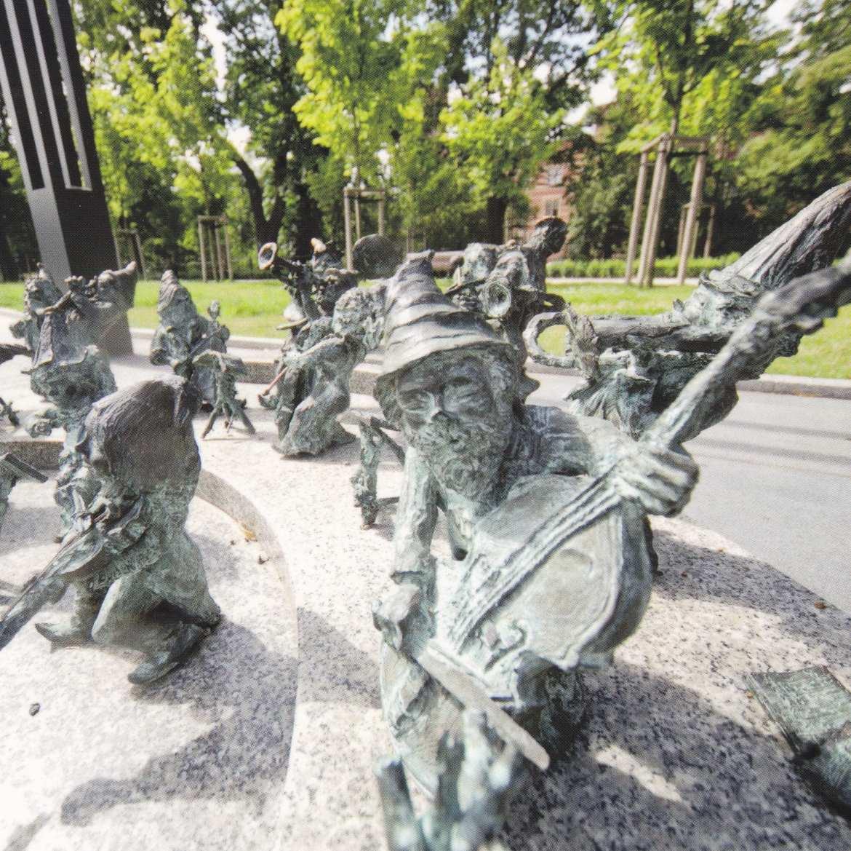 dwarf orchestra in Wroclaw, Poland