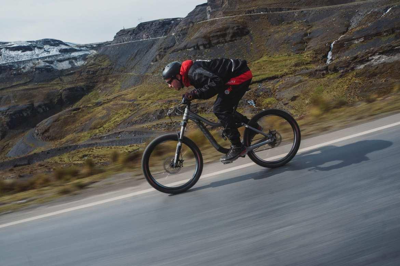 cycling Bolivia's death road