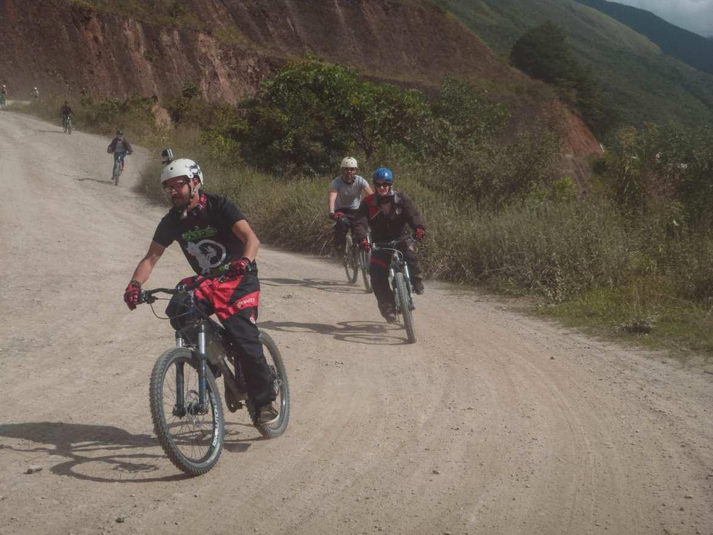 cycling death road