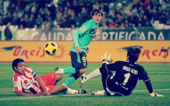 Barcelona vs Almeria, 2010