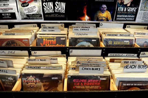 Liverpool Record Store