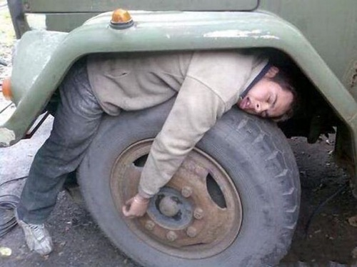 Sleep under the Wheel