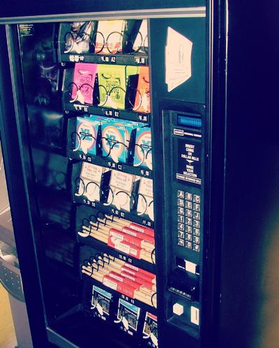 Guitar String Vending Machine