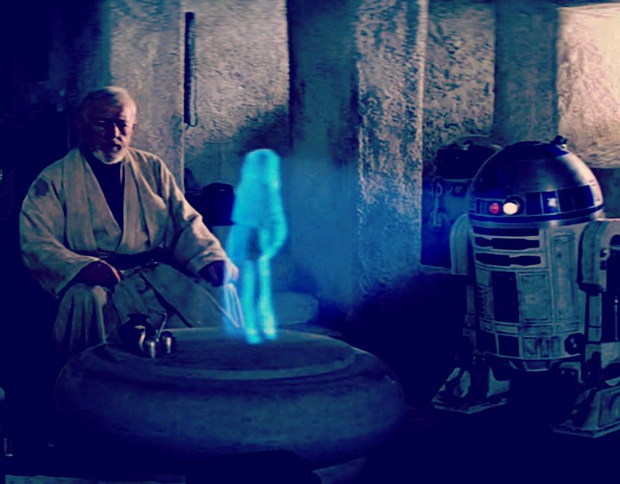 Obi-Wan and R2D2 Star Wars