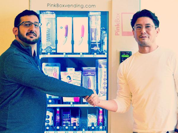 Pinkbox Vending Machine