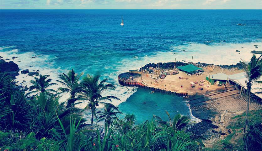Pitcairn Island Bay