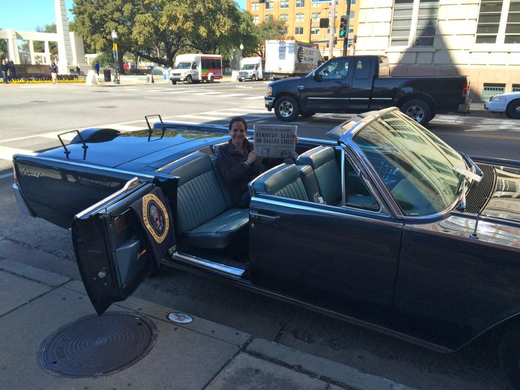 JFK Lincoln Limousine Replica