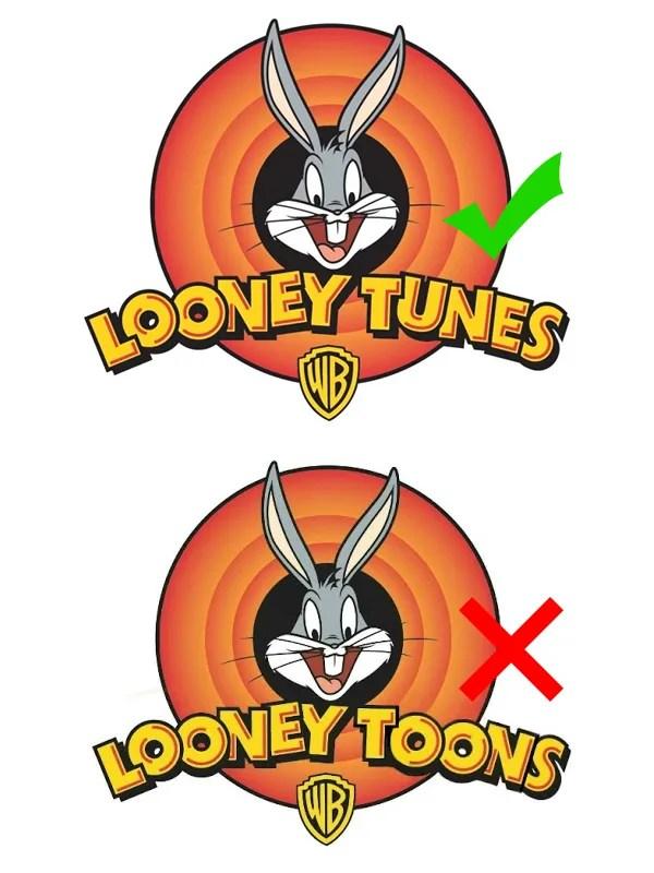 Looney Tunes comparison