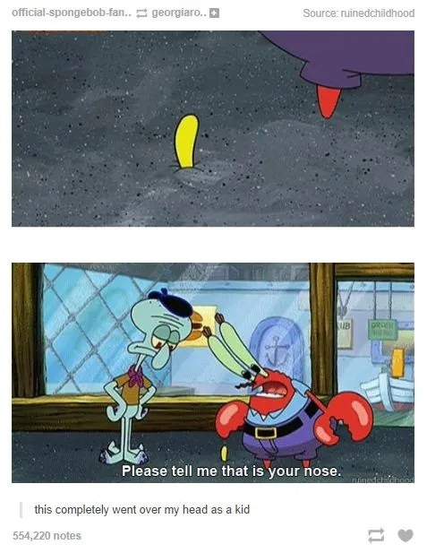 Spongebob Tumblr Post