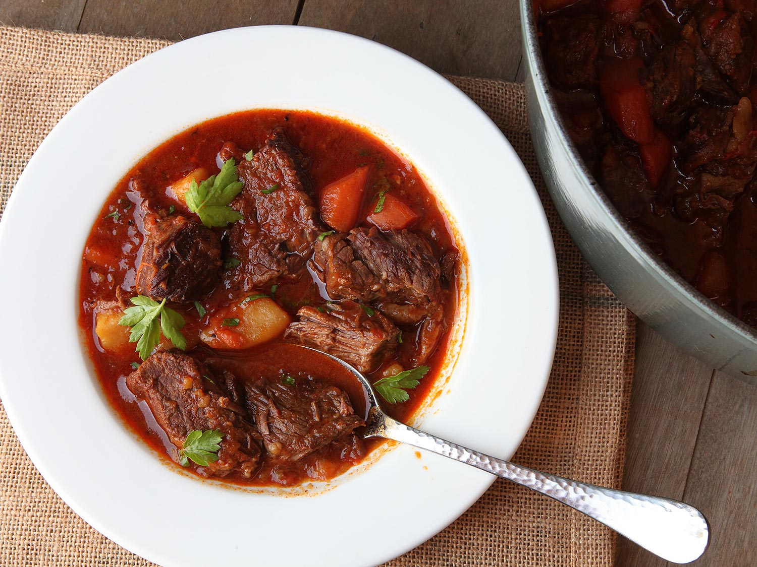 Healthy Food Fixes - Quick Hungarian Goulash